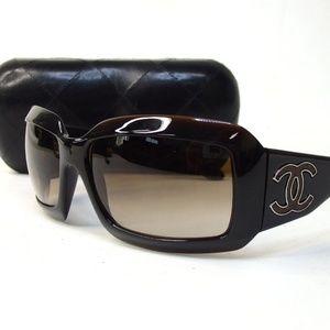 Authentic CHANEL Sunglasses Plat Sticks